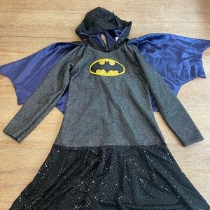 DC BATGIRL HOODIE COSTUME SIZE LARGE